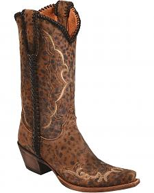 Lucchese Handcrafted 1883 Cassie Cowgirl Boots - Snip Toe