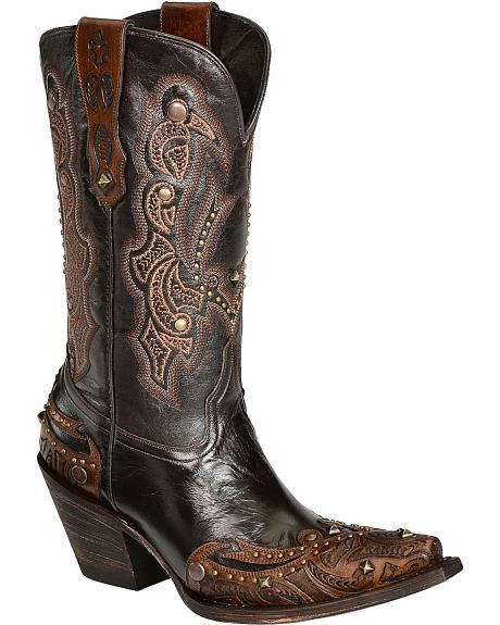 Lucchese Handcrafted 1883 Lucille Cowgirl Boots - Snip Toe