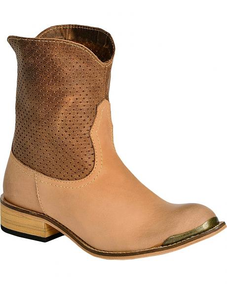 Spirit by Lucchese Molly Short Boots - Round Toe