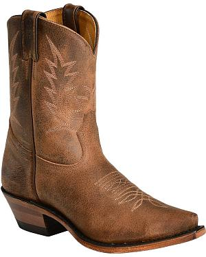 Boulet Fashion Cowgirl Boots - Snip Toe