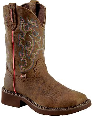 Justin Gypsy Waterproof Cowgirl Boots - Square Toe