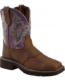 Justin Gypsy Copper Kettle Cowgirl Boots - Square Toe