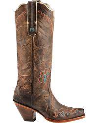 Tony Lama Black Label Tall Cowgirl Boots at Sheplers