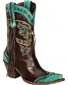 Lucchese Handcrafted 1883 Haley Cowgirl Boots - Snip Toe