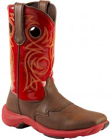 Durango Red Rebelicious Cowgirl Boots - Square Toe
