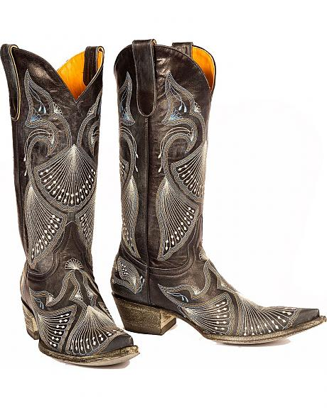 Old Gringo Pavito Embroidered Cowgirl Boots - Pointed Toe