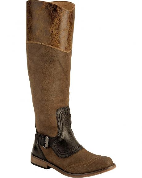 Lucchese Belle Riding Boots - Round Toe