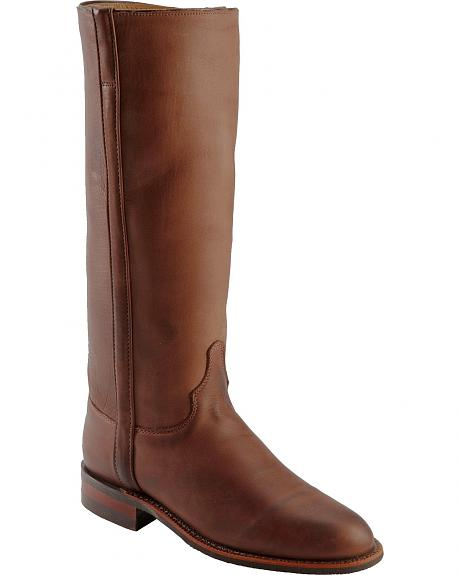 Justin Tall Riding Boots - Round Toe
