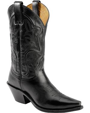 Justin Torino Cowgirl Boots - Snip Toe