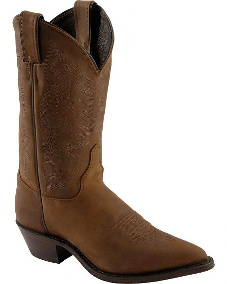 Justin Bay Apache Cowgirl Boots - Pointed Toe