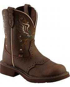 Justin Copper Kettle Gypsy Boots - Round Toe