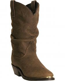 Dingo Marlee Slouch Cowgirl Boots - Round Toe