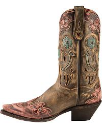 Dan Post Blue Arrow Cowgirl Boots - Snip Toe at Sheplers