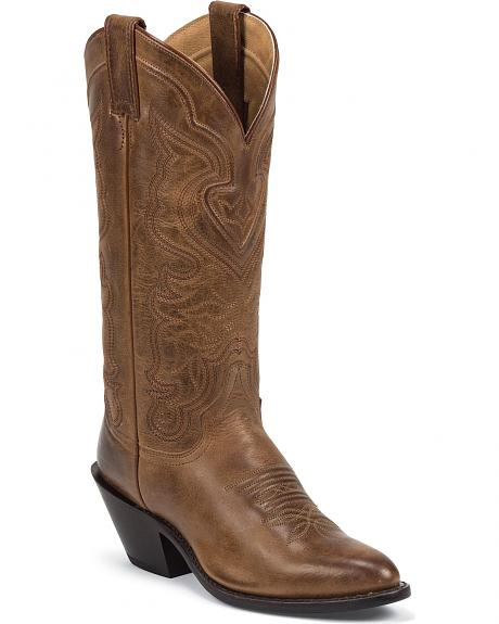 Justin Classic Cowgirl Boots - Medium Toe