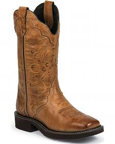 Justin Gypsy Cowgirl Boots - Square Toe