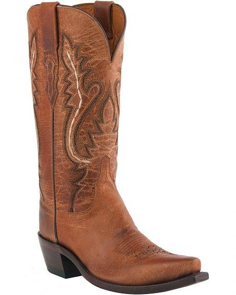 Lucchese Handcrafted 1883 Cassidy Cowgirl Boots - Snip Toe