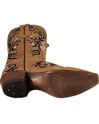 Ferrini Fancy Rockstar Inlay Cowgirl Boots - Snip Toe at Sheplers