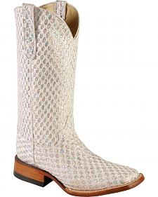 Ferrini Rockstar Cowgirl Boots - Wide Square Toe