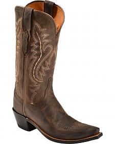 Lucchese Handcrafted 1883 Madras Goat Cowgirl Boots - Snip Toe