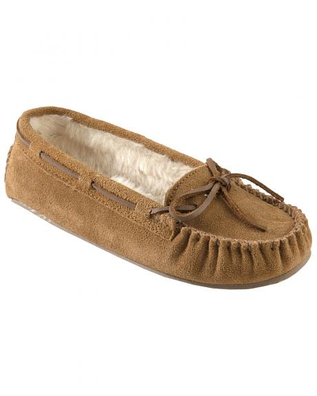 Minnetonka Cally Lined Slipper Moccasins
