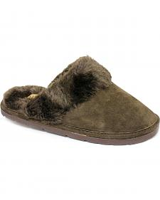 Women's Fleece Lined Scuff Slipper