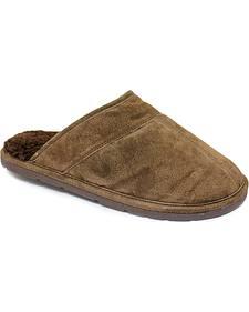 Men's Scuff Leather Slippers