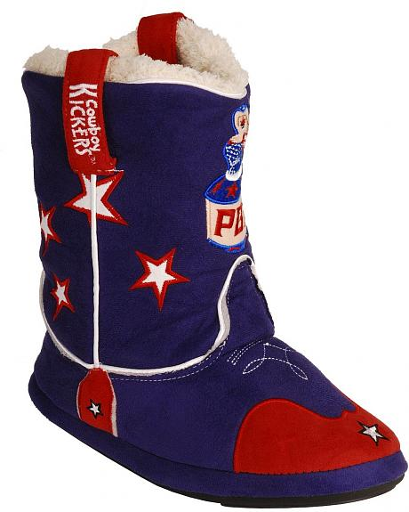 Montana Silversmiths Youth PBR Cowboy Kickers - S/M