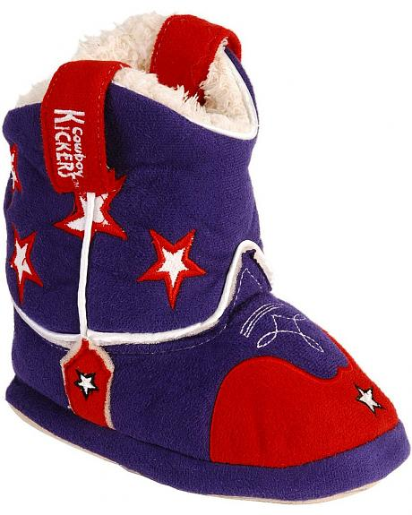 Montana Silversmiths Toddlers' PBR Cowboy Kickers - XL(9-12)
