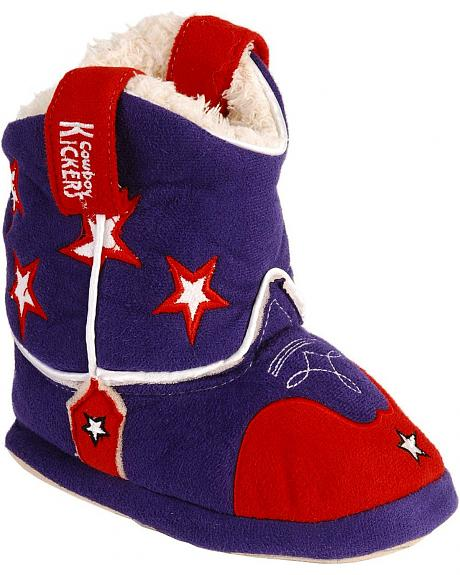 Montana Silversmiths Toddlers' PBR Cowboy Kickers - S/M(6-9)