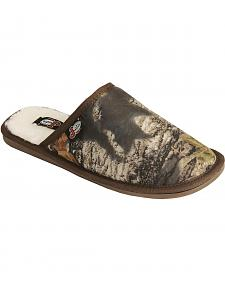 Justin Men's Camouflage Slide-On Slipper
