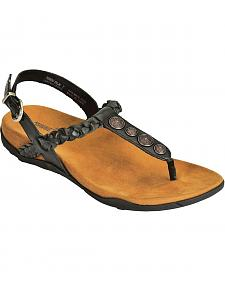 Minnetonka Fulton Ornament Thong Sandals