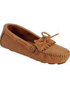 Women's Minnetonka Moosehide Driving Moccasins