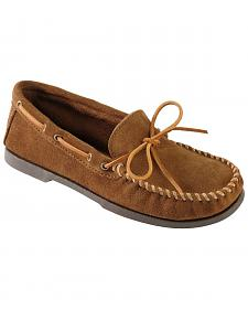 Men's Minnetonka Camp Moccasins - Wide