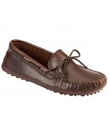 Men's Minnetonka Original Cowhide Driving Moccasins
