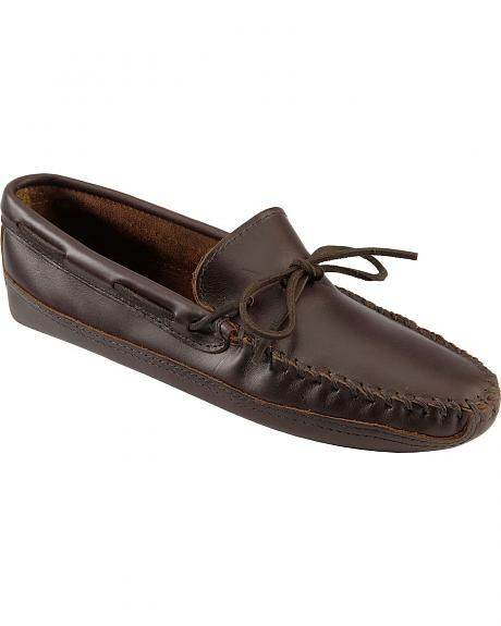 Men's Minnetonka Double Bottom Softsole Moccasins