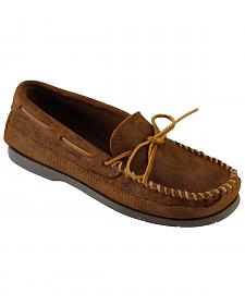 Men's Minnetonka Double Bottom Hardsole Moccasins