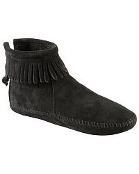 Minnetonka Soft Sole Back-zip Mocs at Sheplers