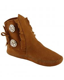 Minnetonka Soft Sole Ankle Moccasins