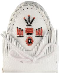 Minnetonka Beaded Thunderbird Moccasins at Sheplers