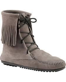 Minnetonka Tramper Moccasin Boots