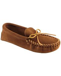 Minnetonka  Suede Camp Moccasins at Sheplers