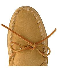 Minnetonka Pile Lined Mocs at Sheplers