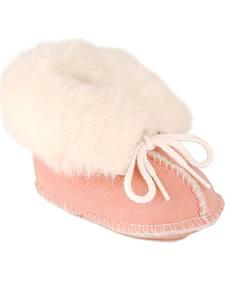 Minnetonka Infant Sheepskin Booties
