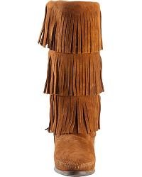 Minnetonka Tall Fringed Boots at Sheplers