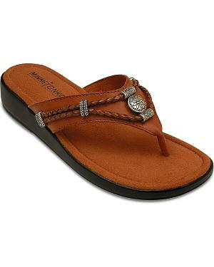 Minnetonka Silverthorne Wedge Sandals