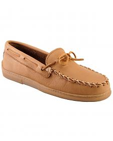 Men's Minnetonka Moosehide Classic Moccasins - Wide