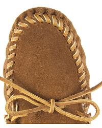 Women Minnetonka Traditional Pile Line Softsole Moccasins at Sheplers