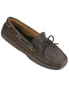 Minnetonka Moosehide Leather Weekend Moccasins