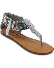 Minnetonka Ibiza Beaded Thong Sandals