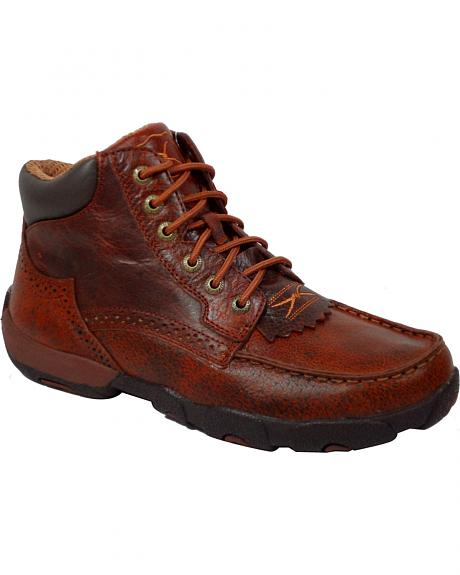 Twisted X Chuck Up Brandy Lace-Up Casual Shoes